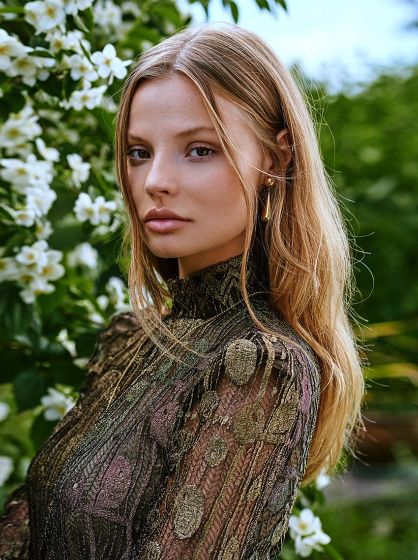 Magdalena Frackowiak by Zuza Krajewska for ELLE Poland October 2017