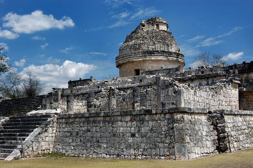 Древняя обсерватория в Мексике