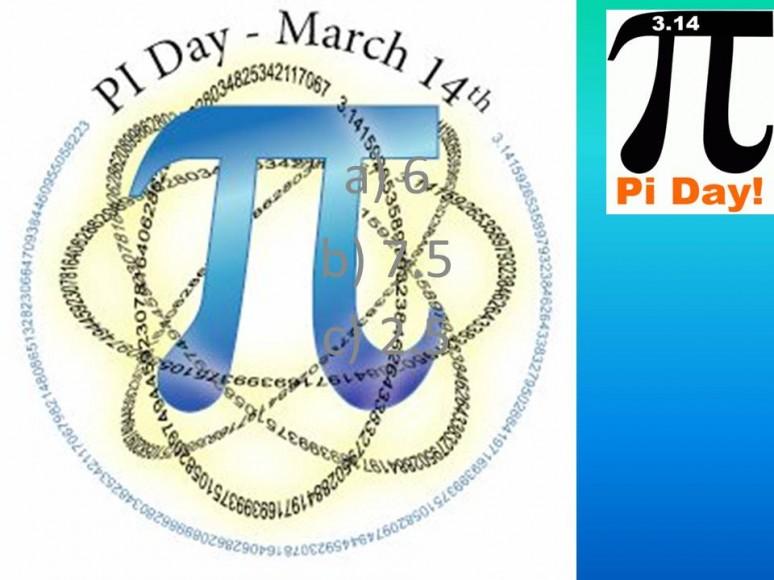 Открытки Международный день числа «Пи». Поздравляю вас!