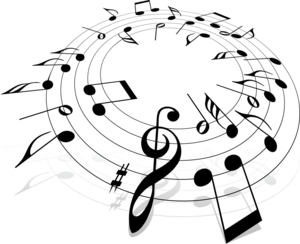 черные ноты