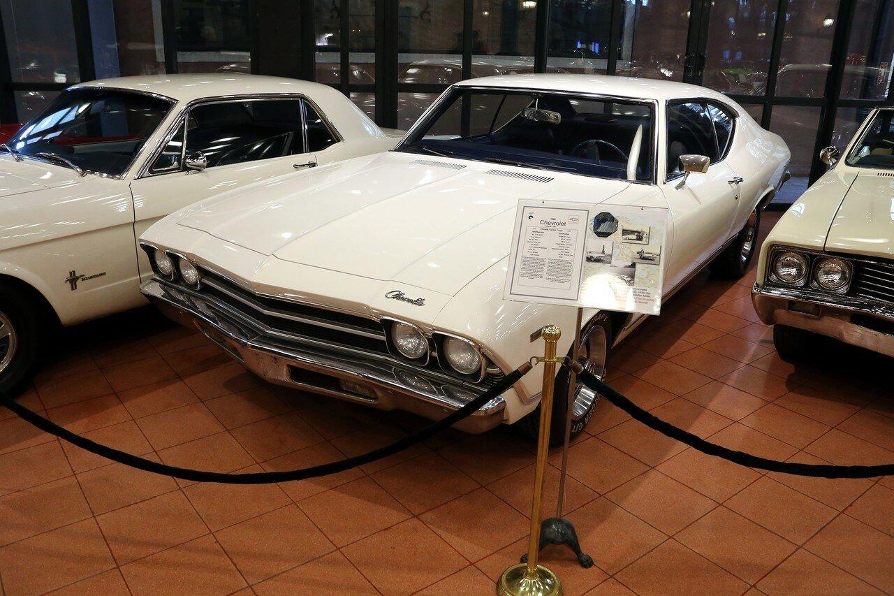 Стамбул. Музей Рахими Коча. Chevrolet Chevelle Hardtop Coupe 1969