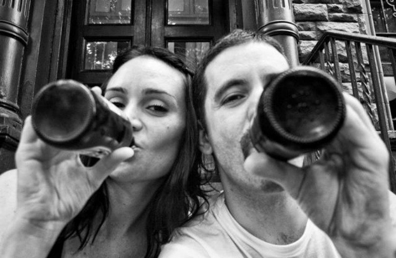 «Битва, которую мы не выбирали»: американец запечатлел, как его жена умирала от рака (27 фото)