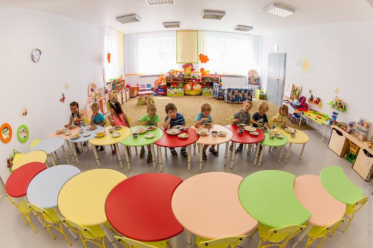 Как выглядит современный детский сад (46 фото)