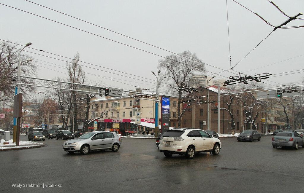 Гоголя-Абылайхана, Алматы.