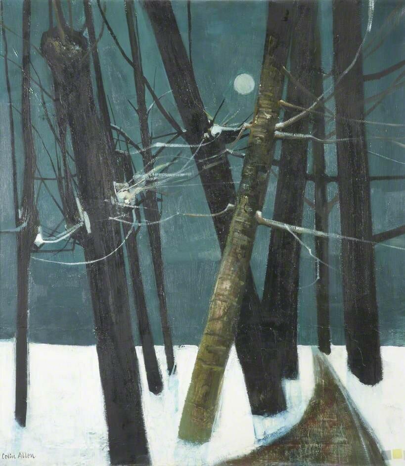 До свидания, елка пространство, снегу, небольшое, дерево, сцена, немного, убрали, декорации, попрежнему, безвкусны, понятно, достигнута, реальная, начинается, неизбежное, медленное, скольжение, январь, Рождество, замке