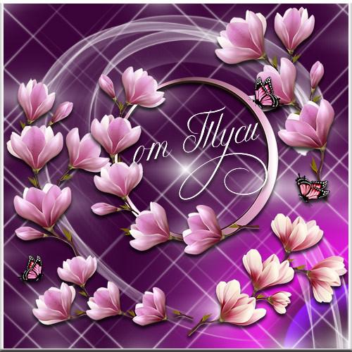Весенние цветы - Клипарт