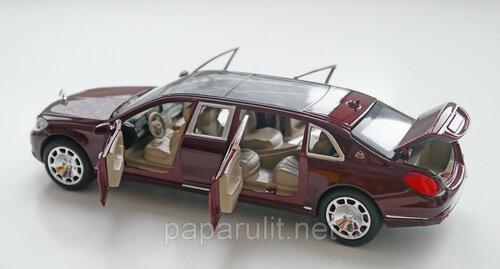 Металлический лимузин со звуком и светом XLG M923T