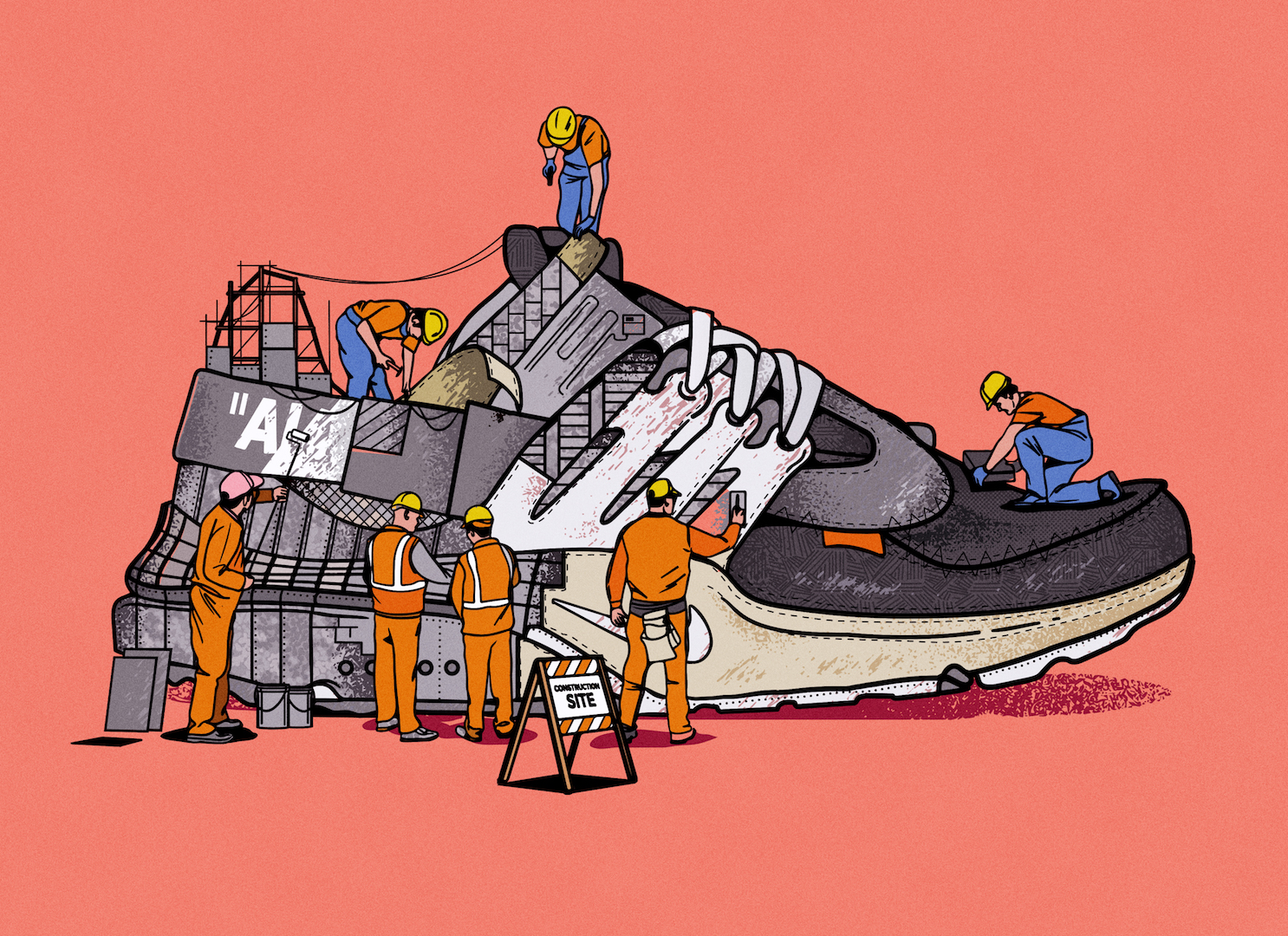 Sneakers Under Construction by Musketon (11 pics)
