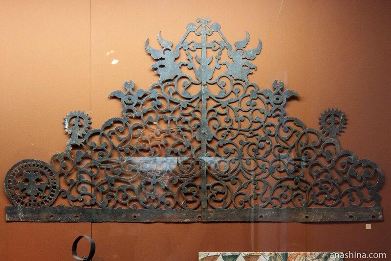 Навершие хоругви. Просечное железо. Конец XVII века