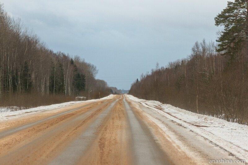 Дорога из Углича в Калязин