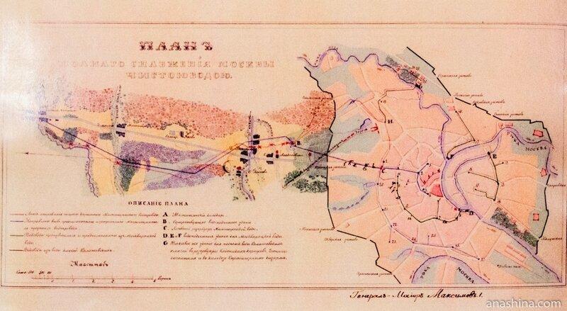 План полного снабжения Москвы чистой водой, 1850 год
