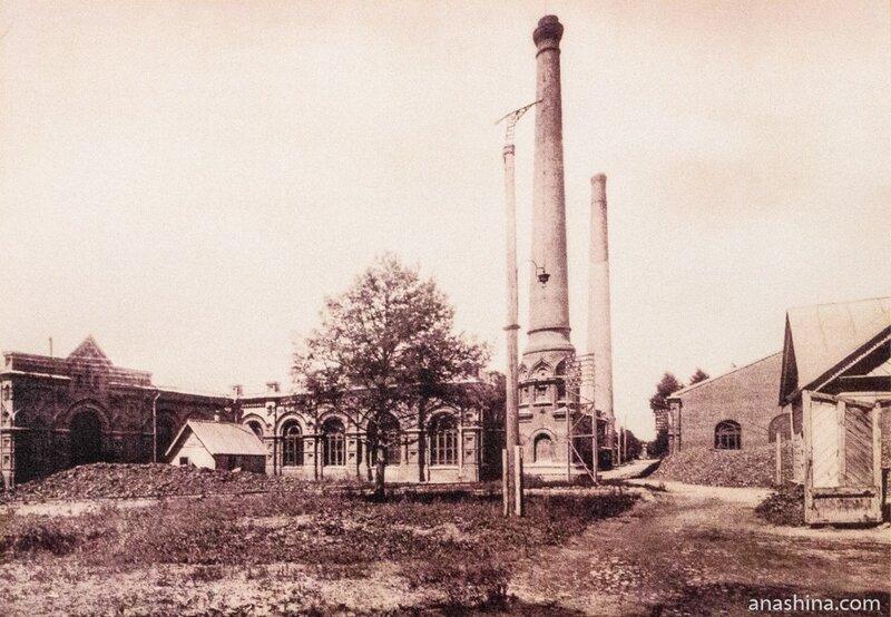 Мытищинская насосная станция, 1890 год