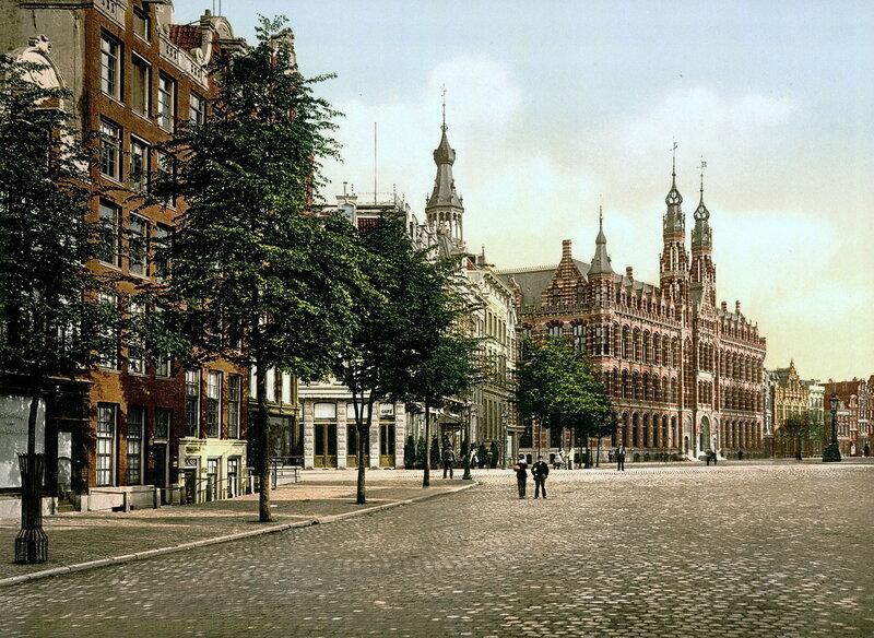 Центральный почтамт в конце XIX века