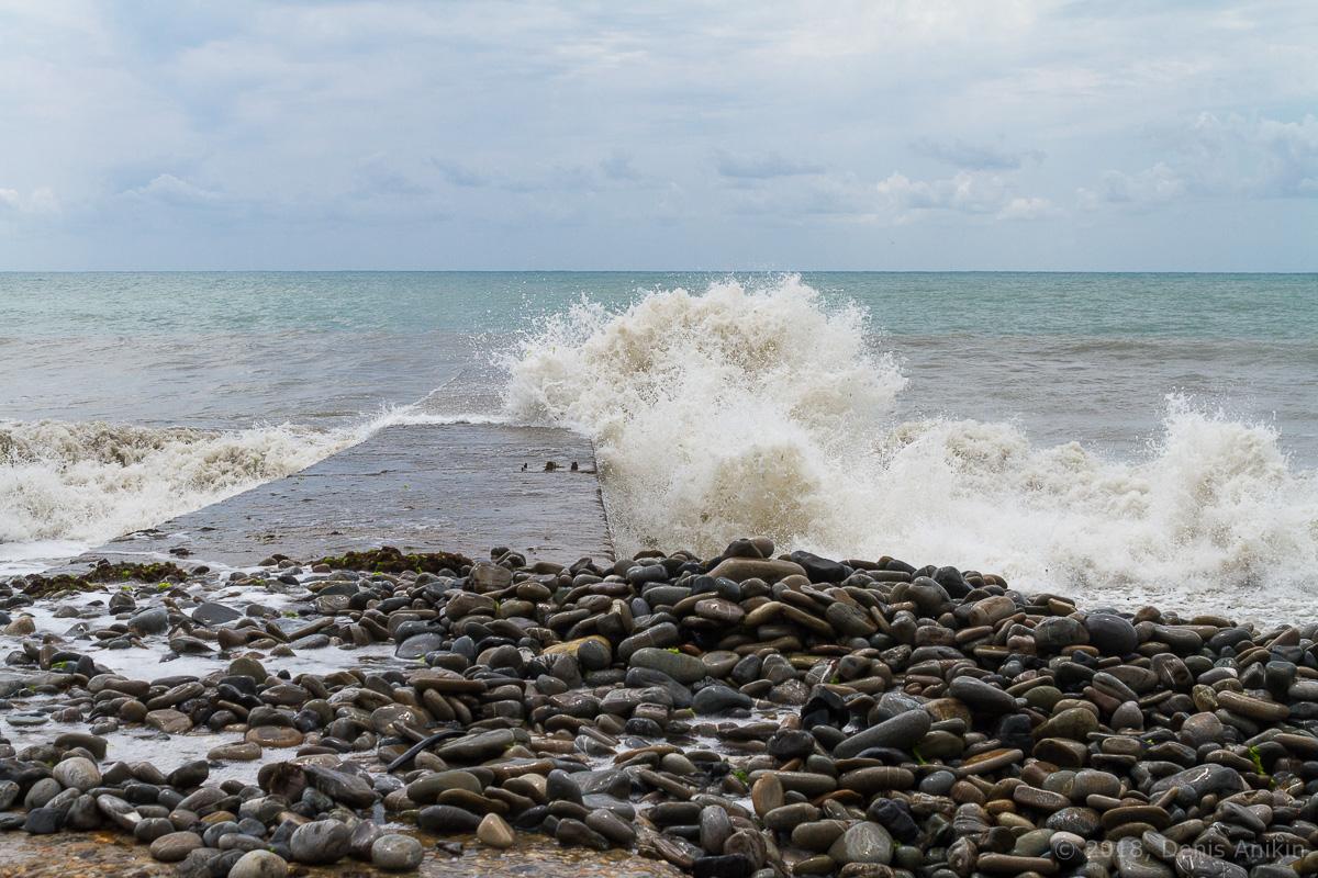 сочи черное море шторм фото 4