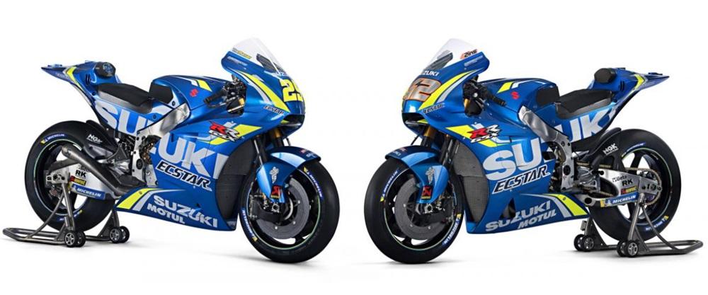 Презентация команды Suzuki MotoGP 2018