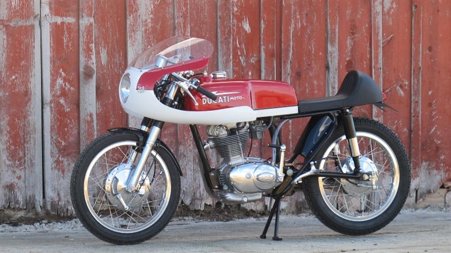 Union Motorcycle Classics: кафе рейсер Ducati Scrambler 1966
