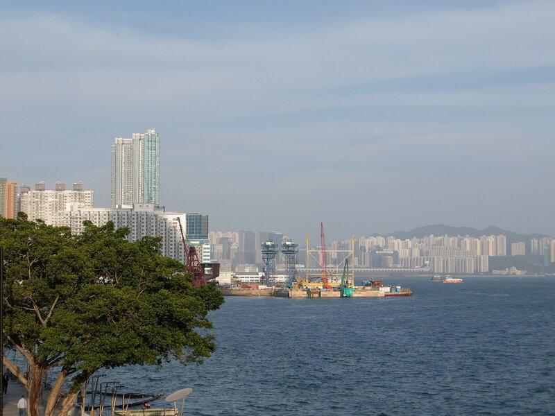Гонконг - У причала