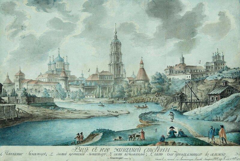 724207 Вид Новоспасского монастыря и Крутицкого подворья от Москвы-реки.jpg