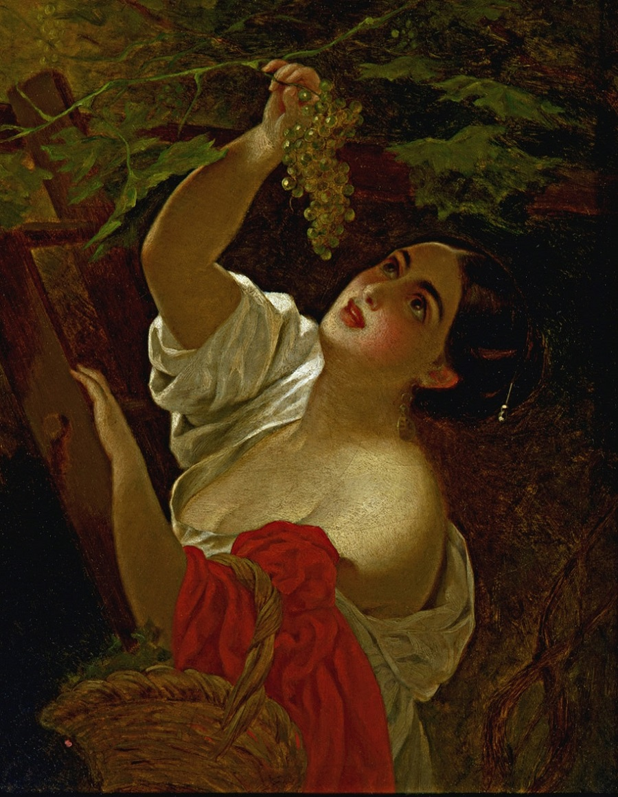 Итальянский полдень. 1831 Государственная Третьяковская галерея, Москва