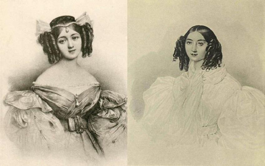 слева автор Карл Брюллов, справа Доменико Босси.jpg