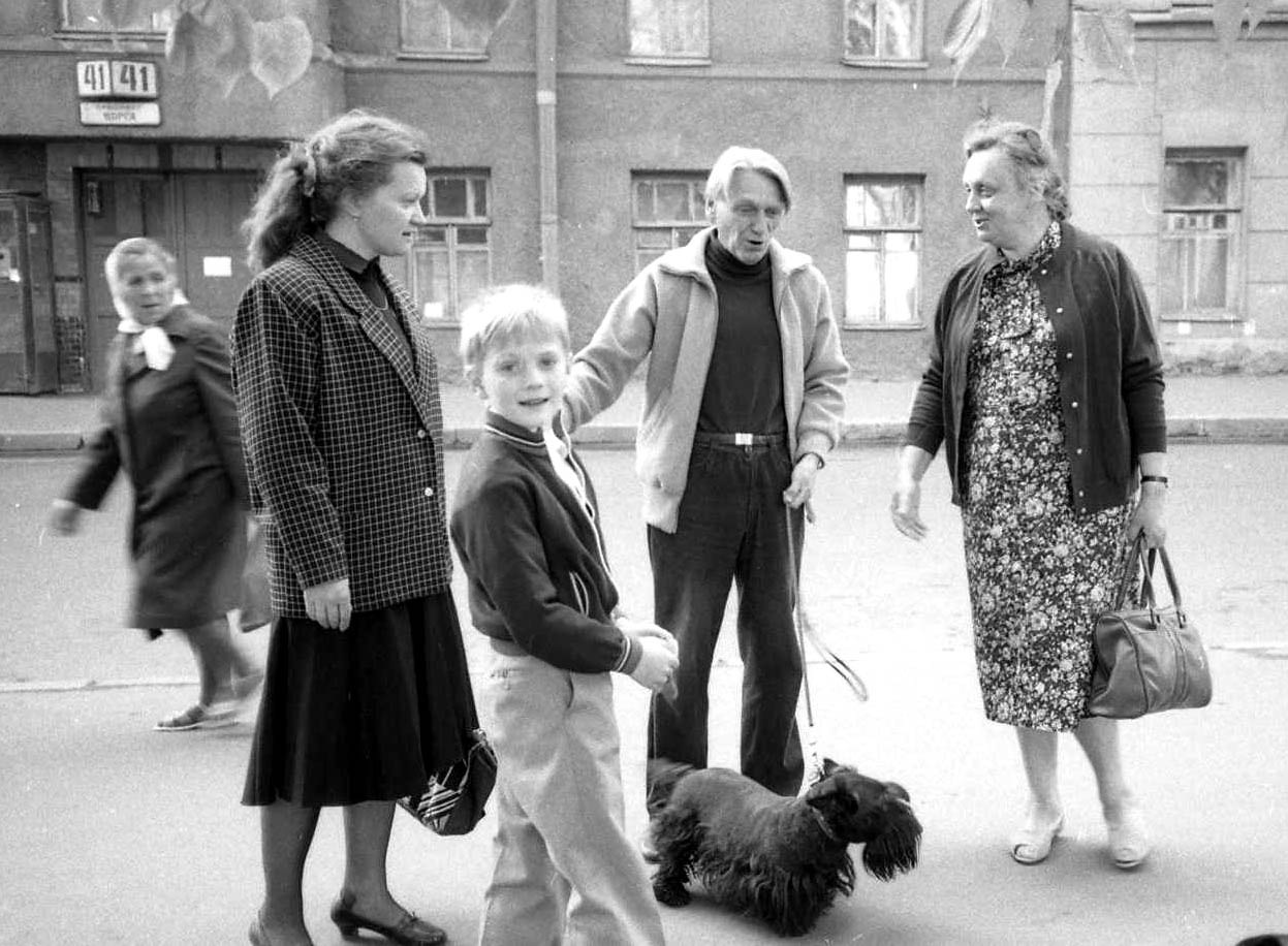 Петроградская сторона, 1986