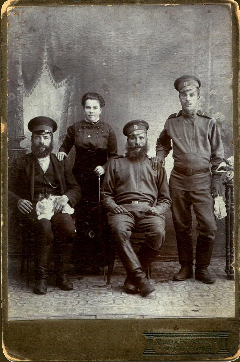 1914. Пицык Борис и Никифор Федоровичи
