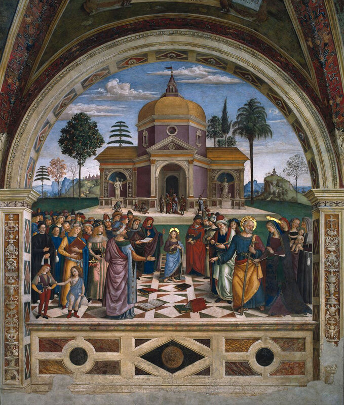012-12летний Иисус во Храме (Пинтуриккьо).jpg