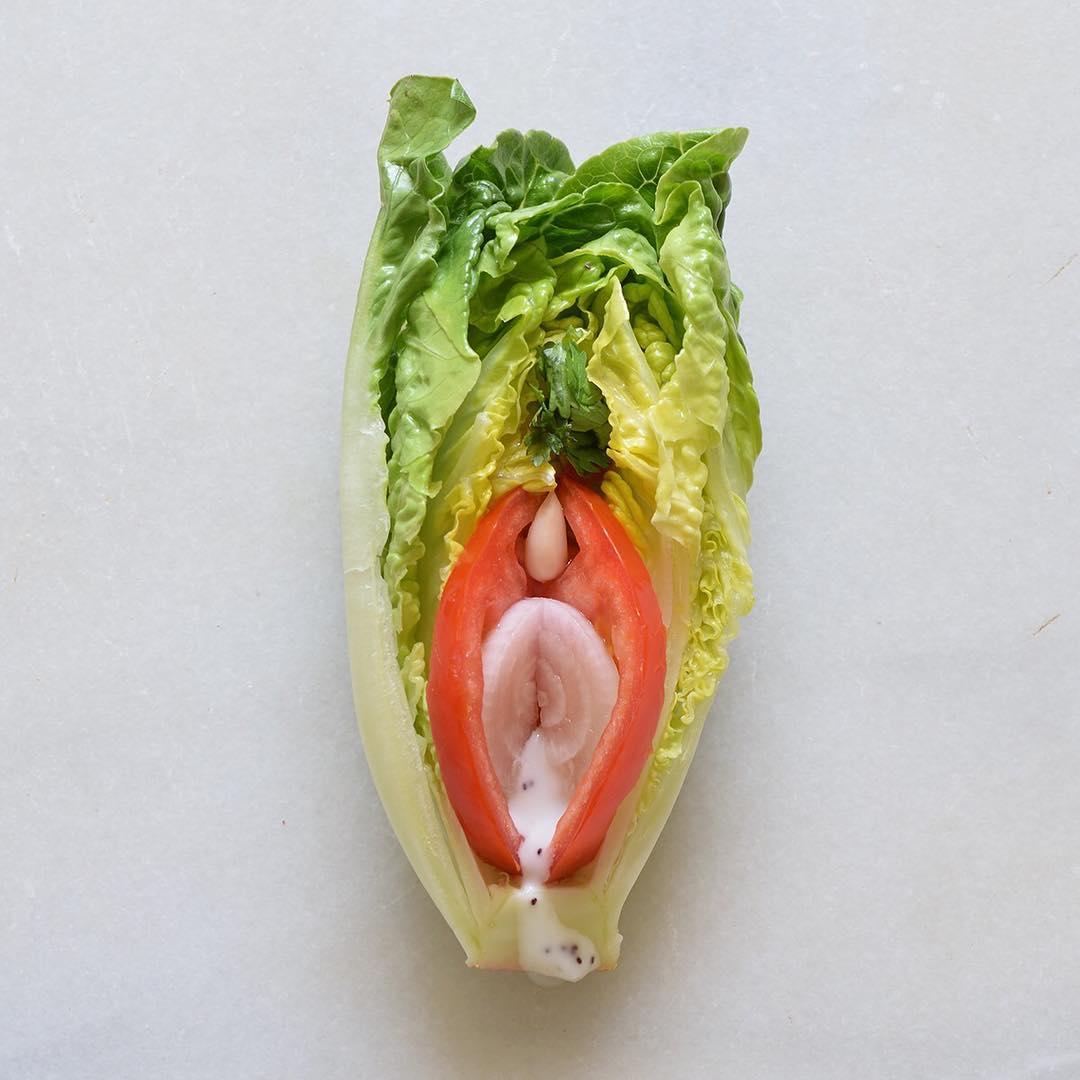 Пищевое порно от Stephanie Sarley