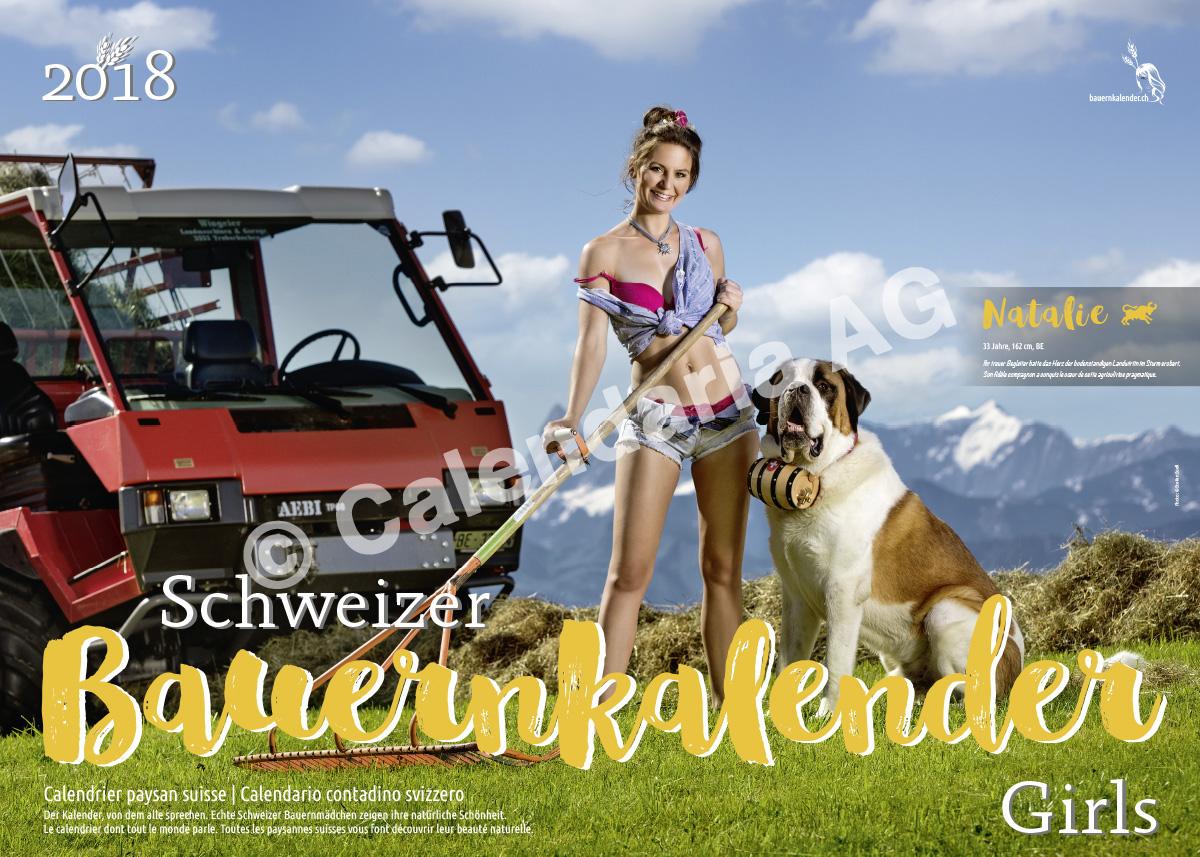 Календарь «Schweizer Bauernkalender Girls 2018»