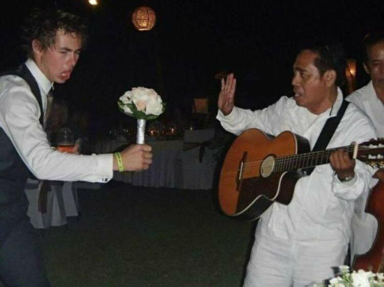 Безумные свадебные фотографии