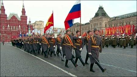 Современные парады на Красной площади