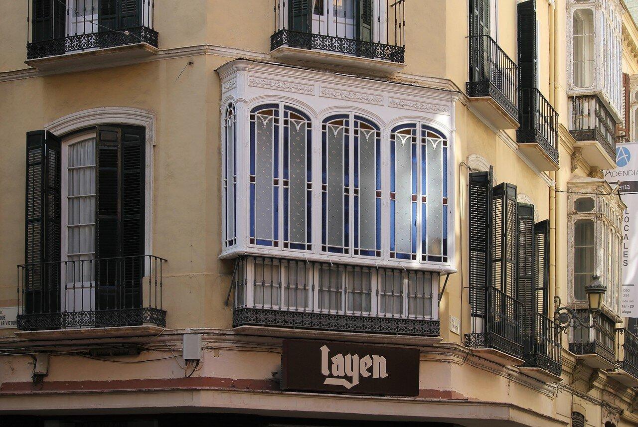 Малага. Улица Сан-Агустин (Calle San Augustin)