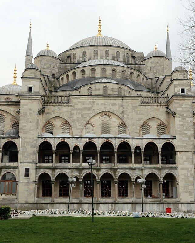 Стамбул. Мечеть Султана Ахмета, Голубая мечеть (Sultan Ahmet Camii)