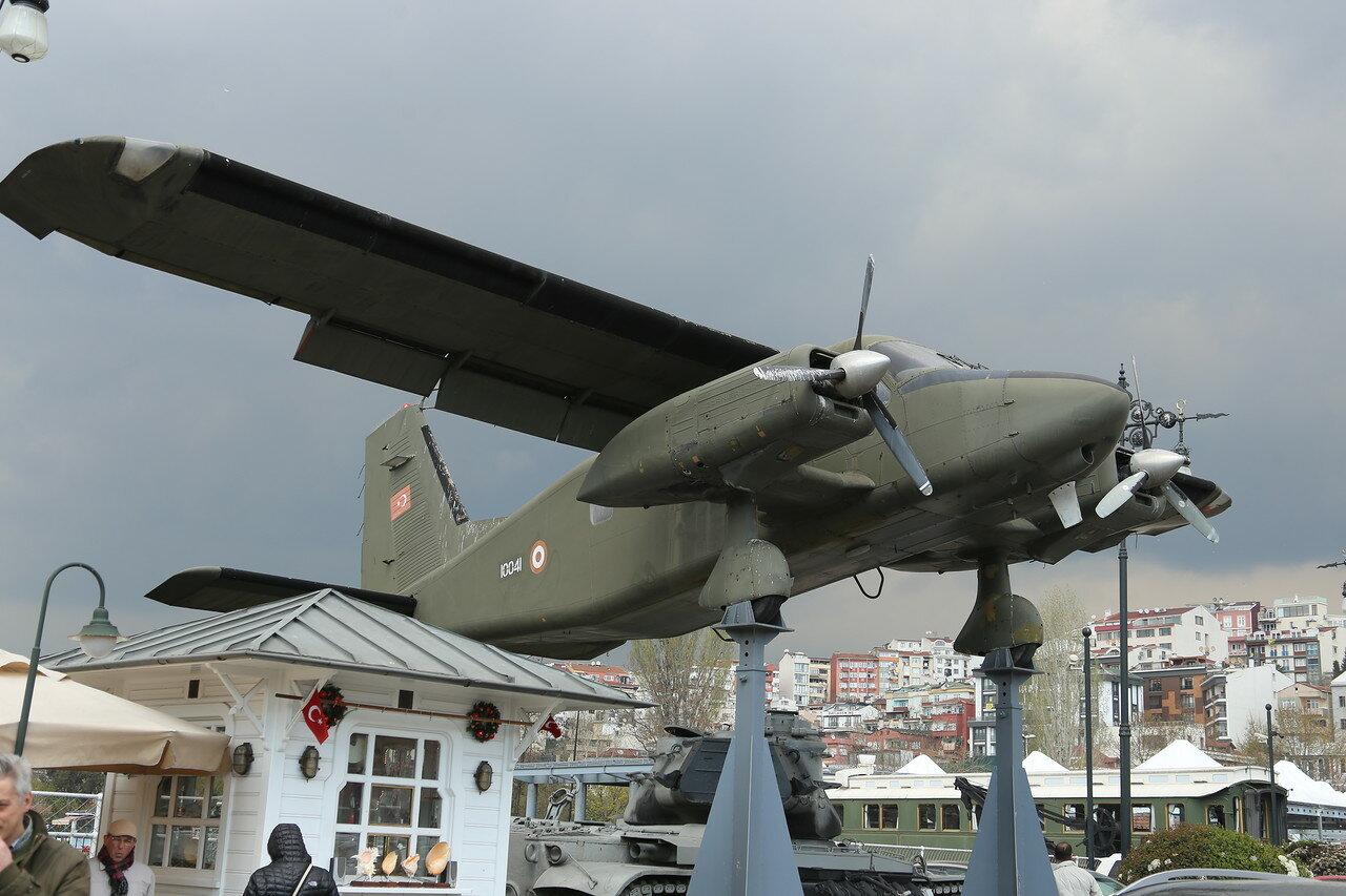 Dornier Do-28D-2 Skyservant. Museum Rahimi M. Koch, Istanbul