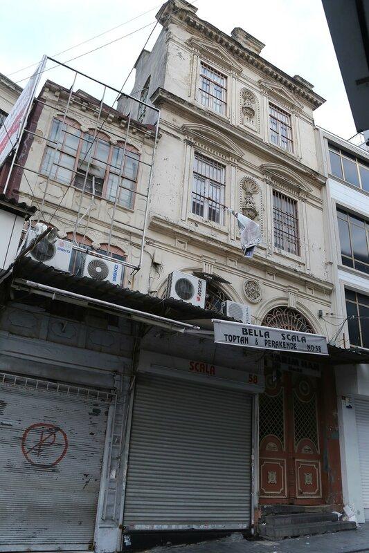 Вечерний Стамбул. Квартал Моллафенари (Mollafenari Mahallesi)