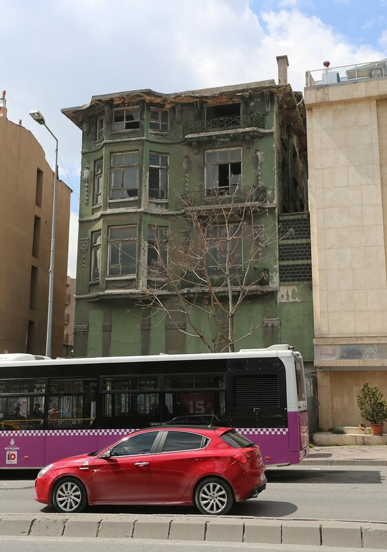 Istanbul. The Street Is Topkapi Palace (Topkapı Caddesi)
