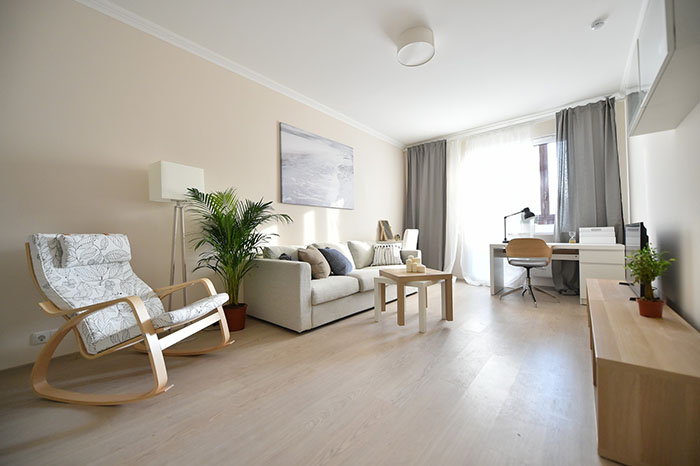 Типовая планировка и отделка новых квартир, предоставляемых жильцам снесенных домов