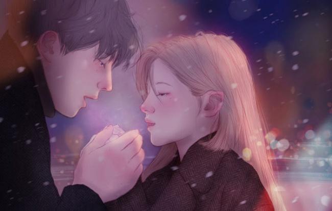 © Hyocheon Jeong  Влюбленность— чудесное время, когда вовсе стороны летят искры