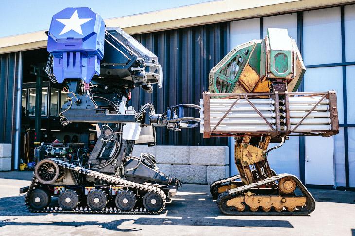 2. Зачем нужен этот робот? В ближайшем будущем он сразится с роботом из Японии под названием Kuratas