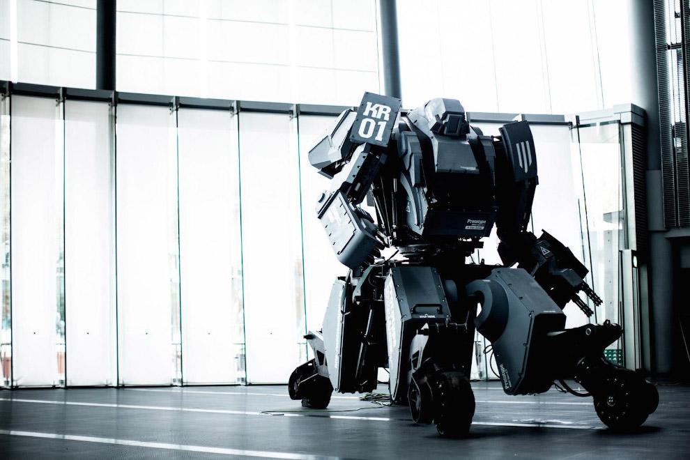 5. Но вернемся к американскому боевому роботу Eagle Prime.