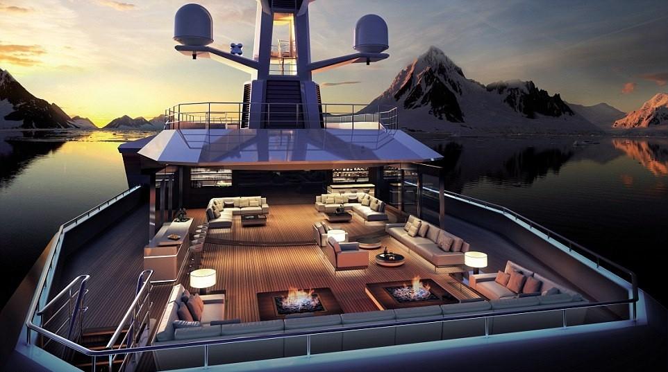 7. Верхняя палуба. Разные модели SeaXplorer по сути отличаются лишь габаритами: 65, 90 и 100 метров