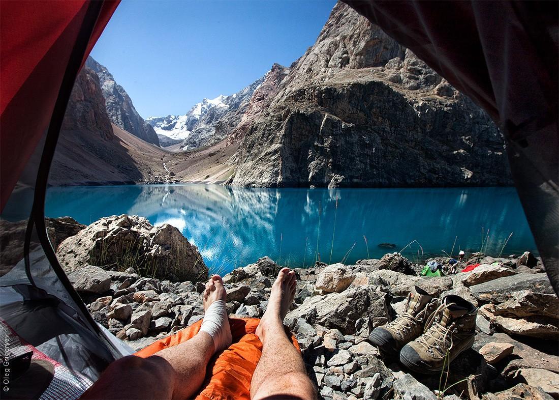 4. Озеро Большое Алло (3150 м).