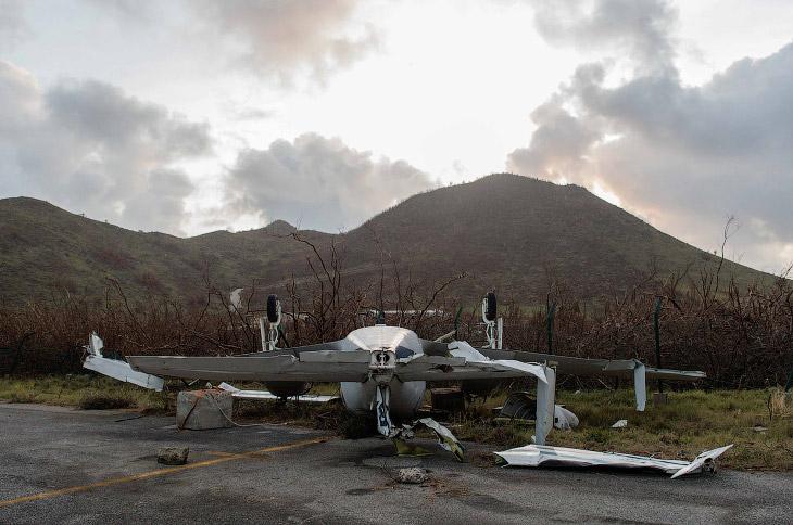 1. Ураган «Ирма» называют самым мощным в Атлантике как минимум за последнее десятилетие. (Фот
