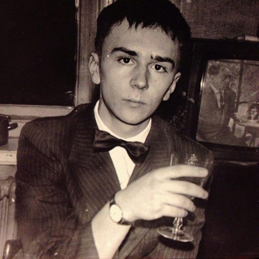 9. Молодой Сергей Шнуров, 1987 г.