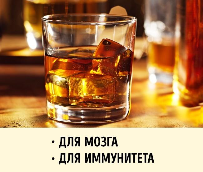 © depositphotos.com      Виски способствует улучшению работы мозга. Ввиски содержится ан