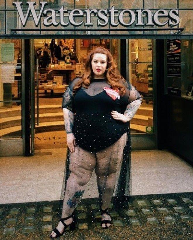 Вес в 155 кг в мире, активно пропагандирующем толерантность, в том числе в моде, не помешал Холлидей