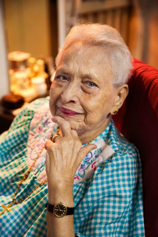 Этой женщине скоро исполнится 100 лет. Только представьте, что вековая история страны прошла прямо п