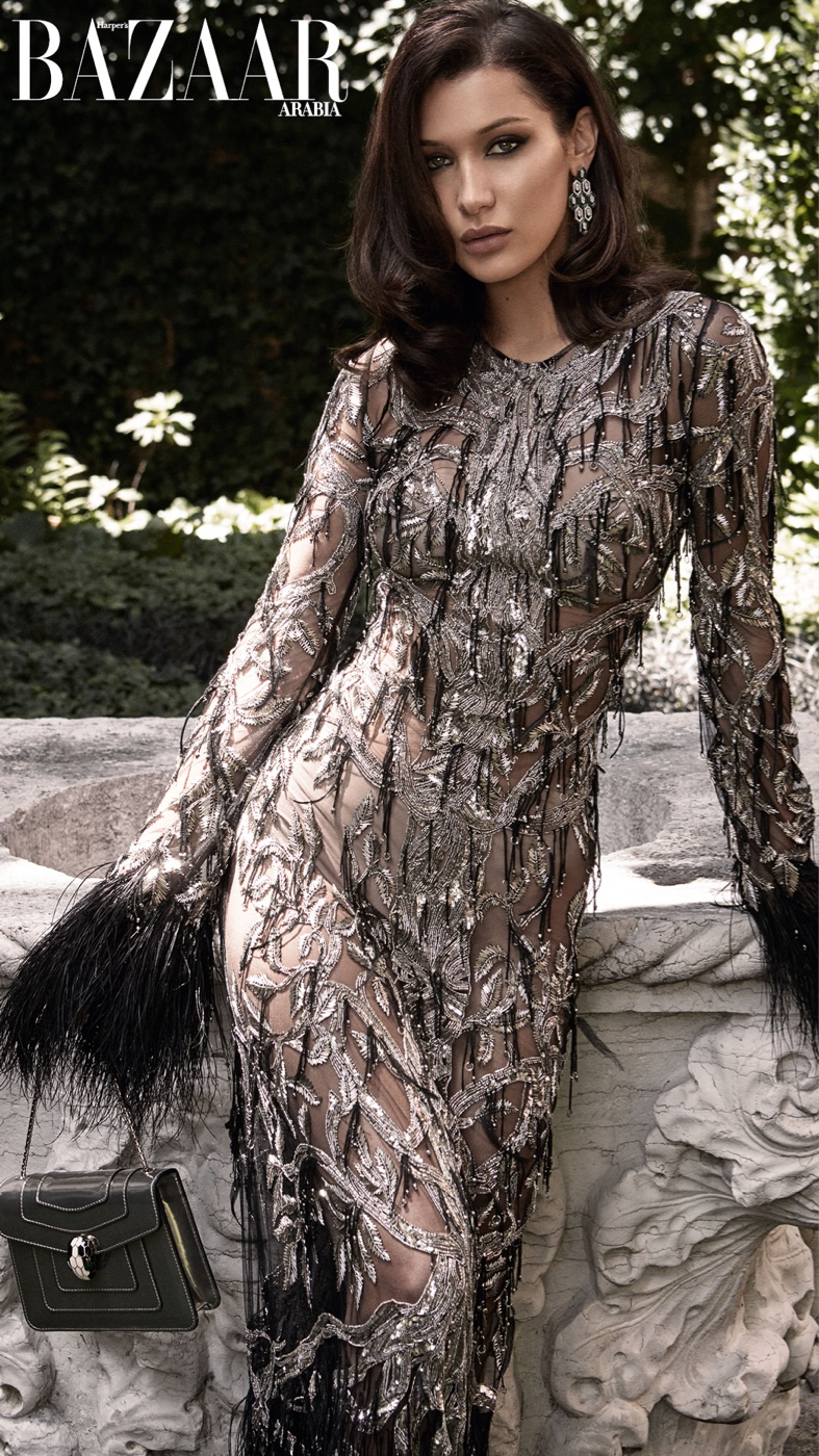 Белла Хадид в Harper's Bazaar Arabia