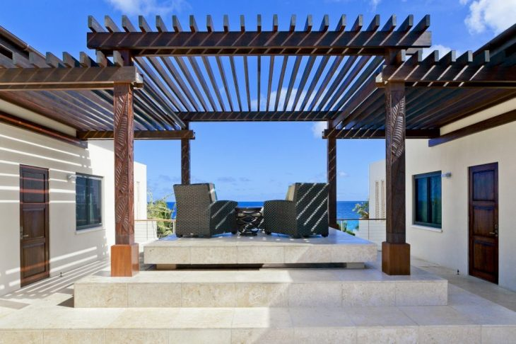 OBM International designed this inspiring beach residence situated on the island of Anguilla in the