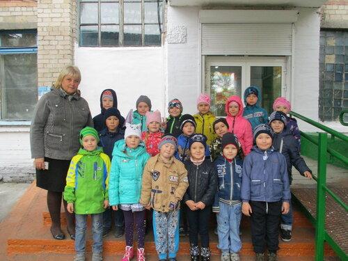 Воспитанники старшей группы детского сада «Улыбка» совершили экскурсию на территорию школы  № 51
